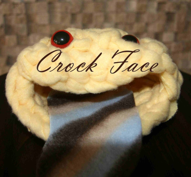 Crock Faces in stock NOW Yellow10
