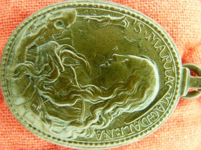 Médaille St-Jérôme & Ste-Marie-Madeleine - XVIIème P1030913