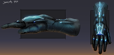 Commissioned Gauntlets {Cursed Armor} [Completed] Gauntl10