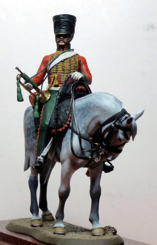 Trompette du 7e régiment de hussards Terminé Dsc08023