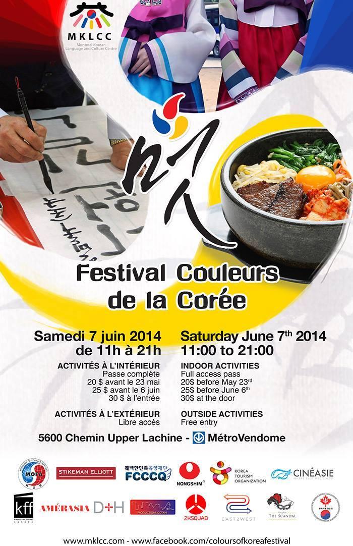 [Montréal] Festival Colours of Korea - MKLCC (7 juin 2014) 10258310
