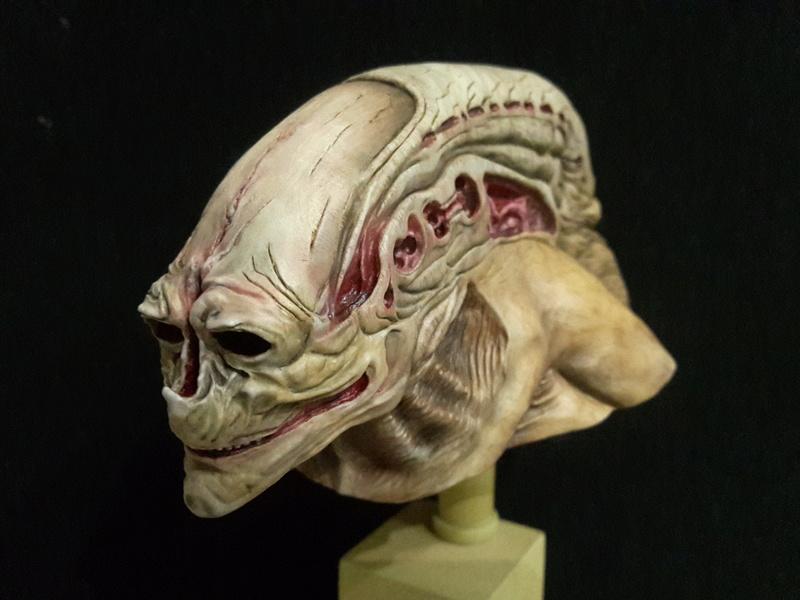 buste alien newborn 1/9 lamouline69 FINI !!! 20170210