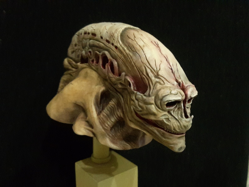buste alien newborn 1/9 lamouline69 FINI !!! 20170212