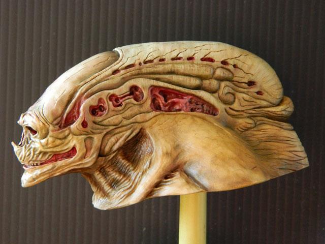 buste alien newborn 1/9 lamouline69 FINI !!! Dscn6530