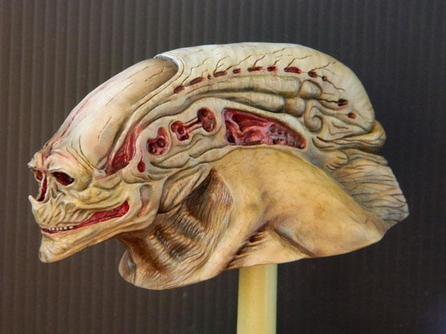 buste alien newborn 1/9 lamouline69 FINI !!! Dscn6535