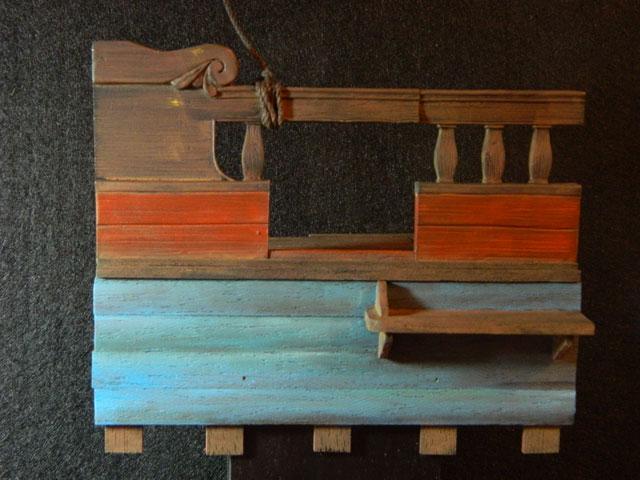 pirates sur pont de navire (peinture du décor fini) - Page 4 Dscn7621