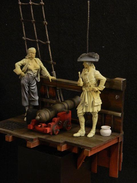 pirates sur pont de navire (peinture du décor fini) - Page 4 Dscn7718