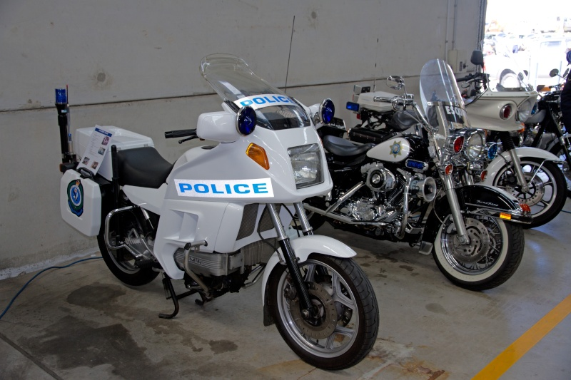 1986 BMW K100RT New South Wales Police Restoration 90903210