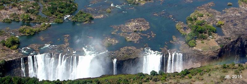 Les Chutes Victoria, au Zimbabwe P1000610