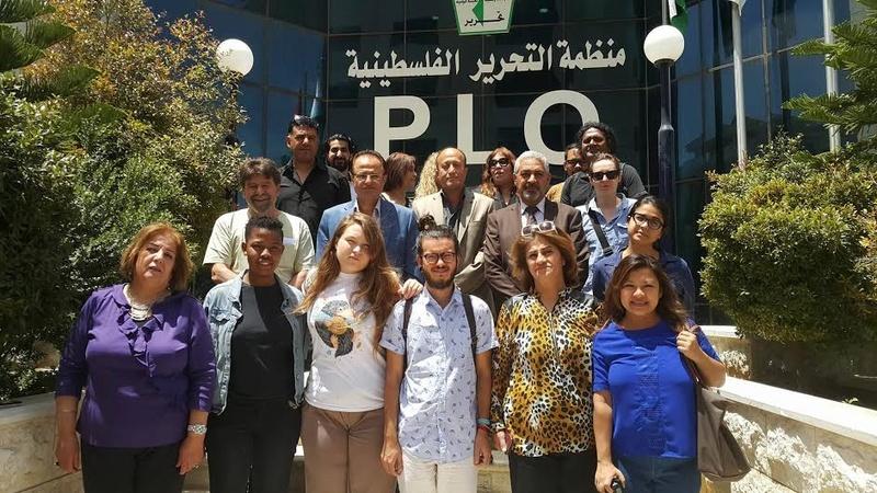 منظمة التحرير الفلسطينية تستضيف وفد شبابي أجنبي من الفدرالية العالمية (أكشن ايد) Unname10