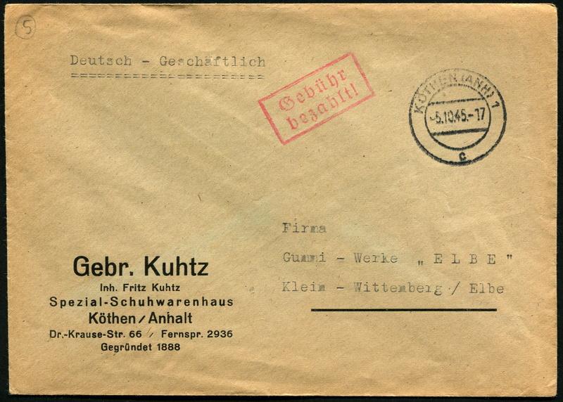 Provinz Sachsen -Sowjetische Besatzungszone - Seite 3 Gebyhr12