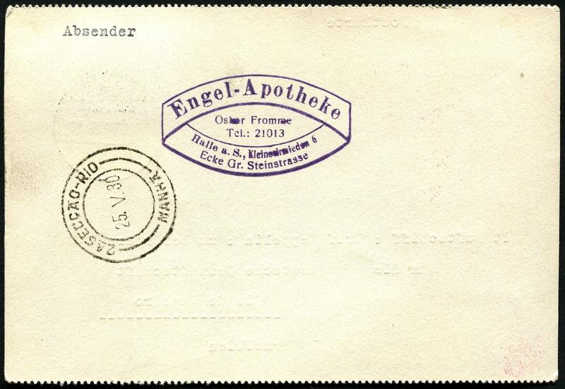 Südamerikafahrt 1930, Post nach Rio de Janeiro - Seite 3 Lz_12711