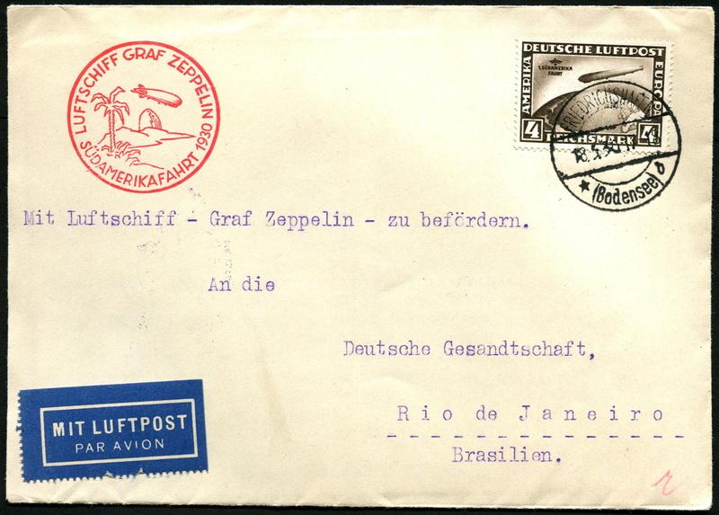Südamerikafahrt 1930, Post nach Rio de Janeiro - Seite 3 Lz_12712