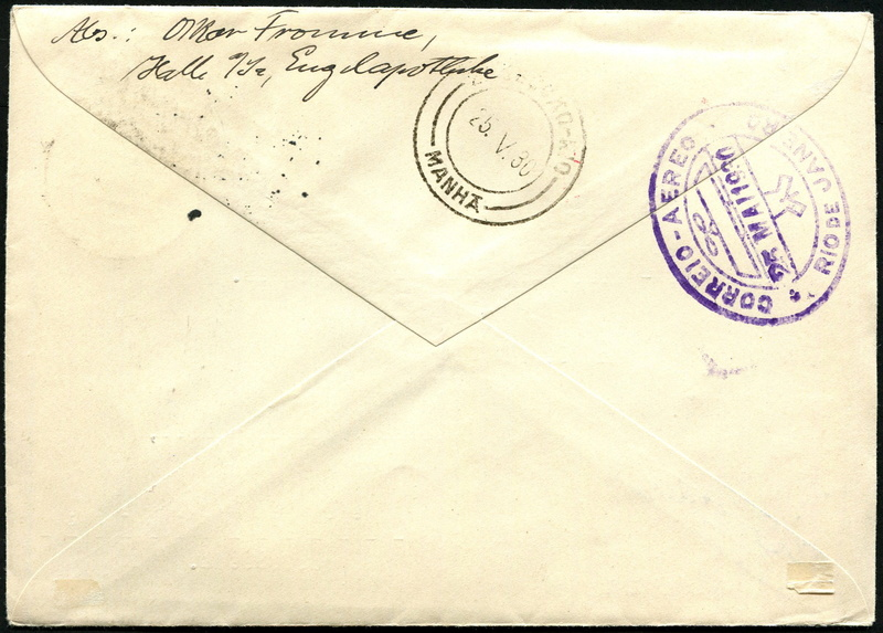 Südamerikafahrt 1930, Post nach Rio de Janeiro - Seite 3 Lz_12713