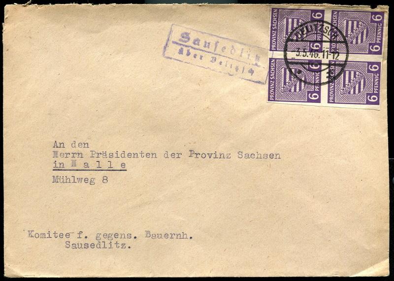 Provinz Sachsen -Sowjetische Besatzungszone - Seite 3 Postst11