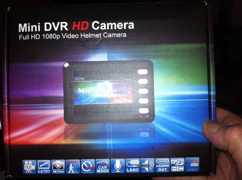 On board HD Camera/Helmet action Cam Mini_d10
