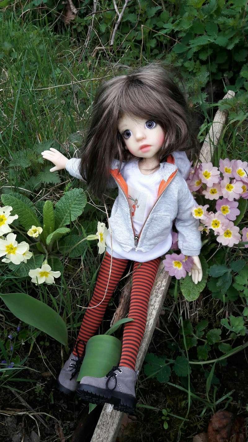 Amélie (Izzy)en mode casse cou 20170324