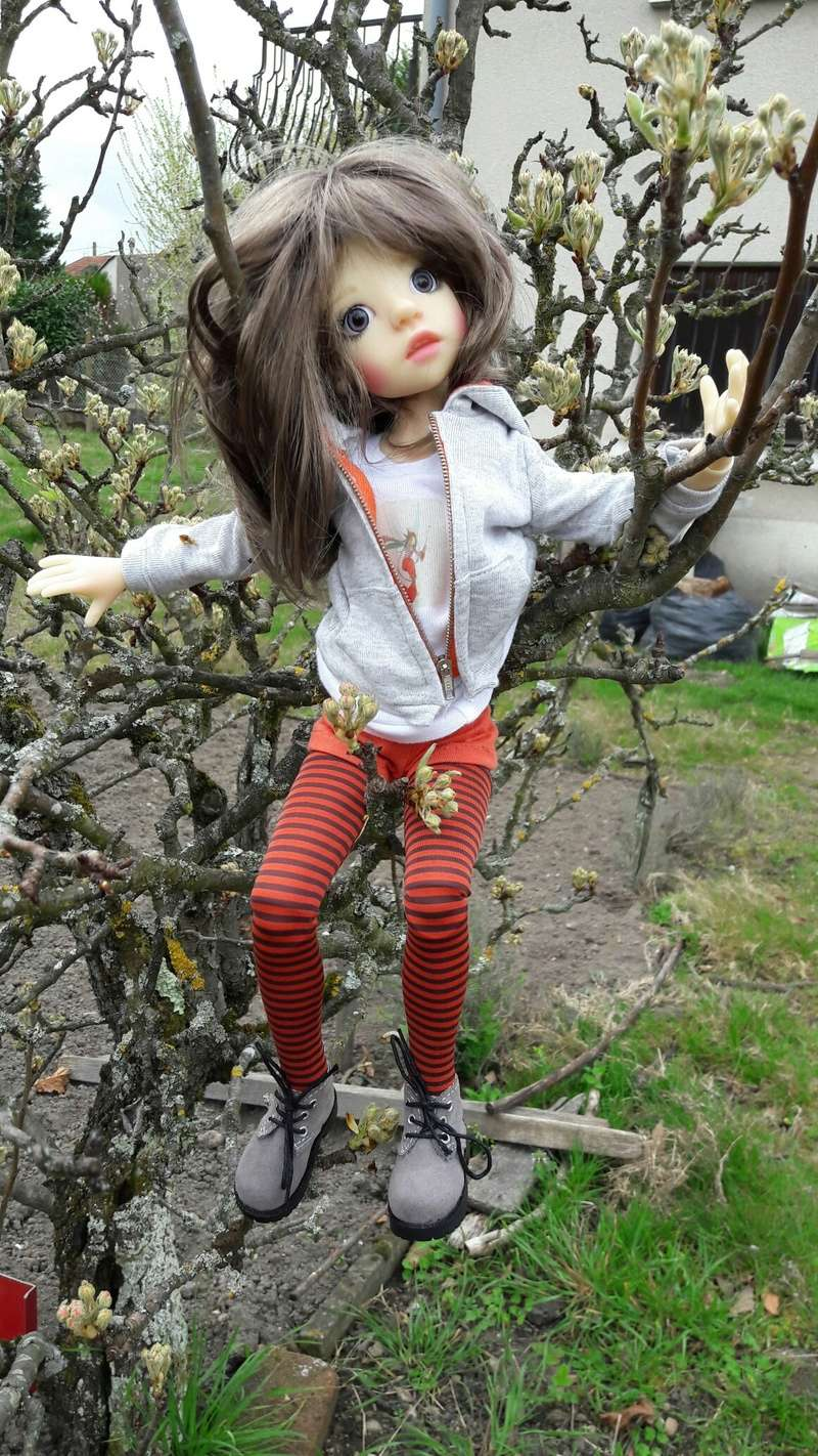 Amélie (Izzy)en mode casse cou 20170326