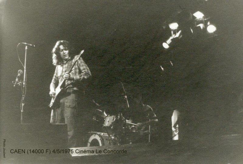 Photo de Nadine et Christian Berjou - Cinéma Le Concorde (Caen) - 4 mai 1975 19149210