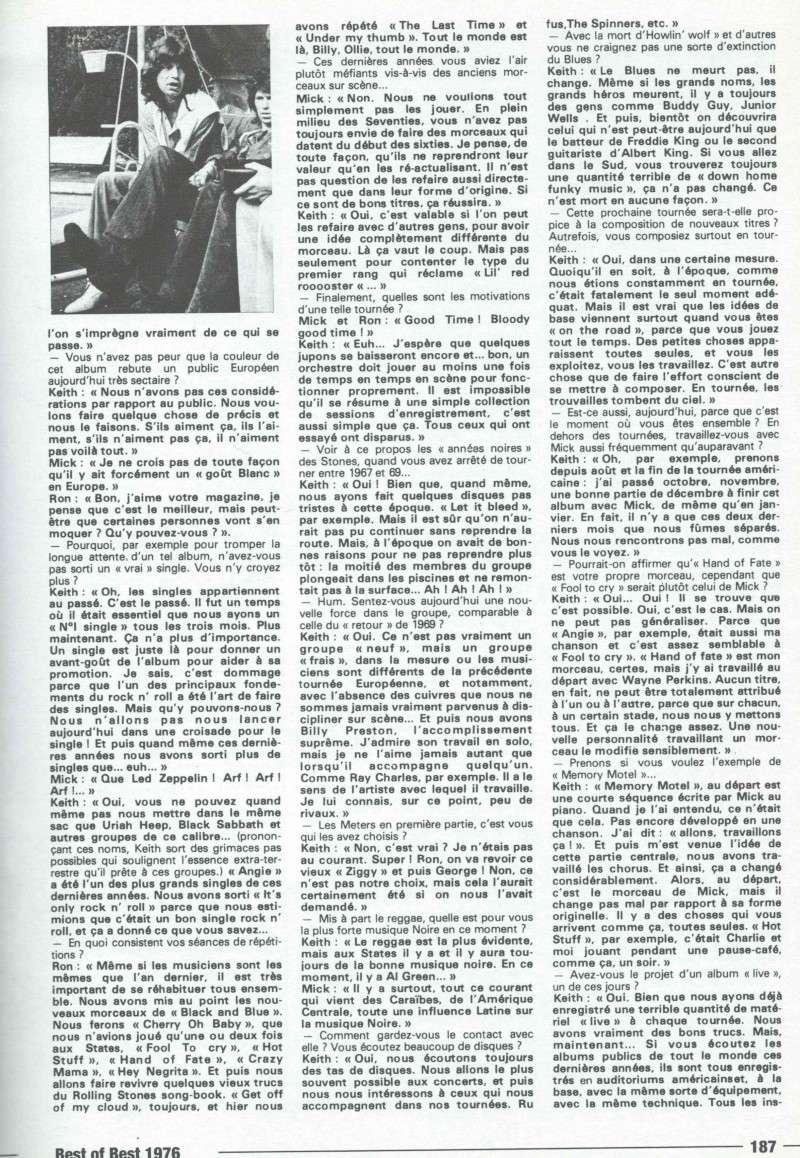 Les Rolling Stones dans la presse française - Page 2 Rollin13