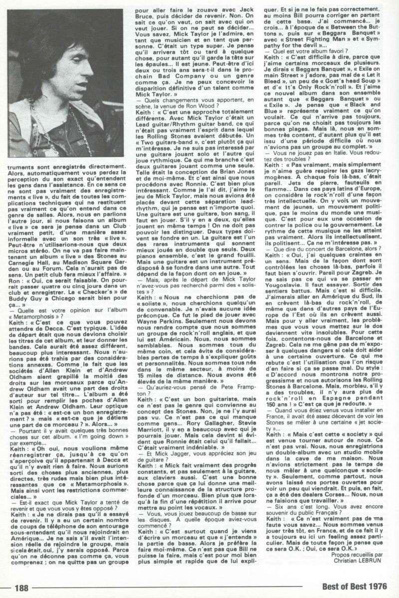 Les Rolling Stones dans la presse française - Page 2 Rollin14