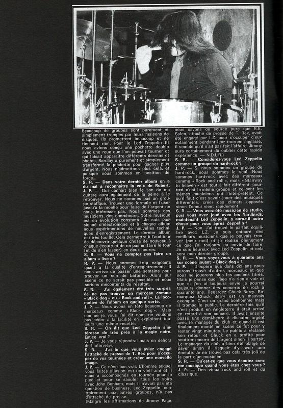 Led Zeppelin dans la presse française - Page 2 Scan0011