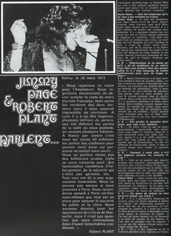 Led Zeppelin dans la presse française - Page 2 Scan0012
