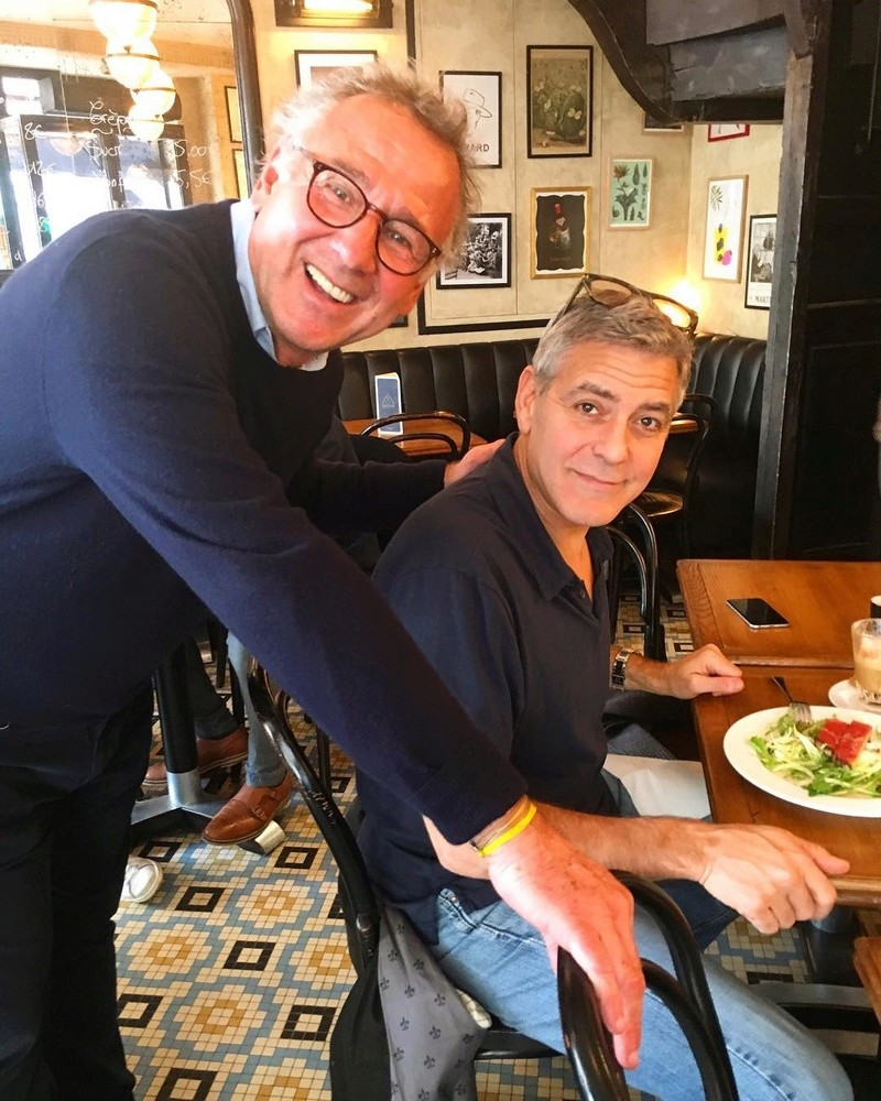 Picture of George Clooney at Le café Madame, Paris 19367210