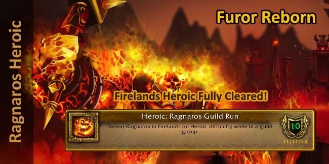 Furor Reborn Ragnaros Heroic