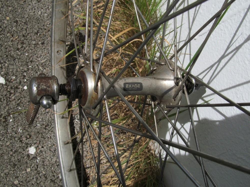 """Paire roues 29"""", Crossmax AR, des roues AV (frein sur jante) Moyeu11"""