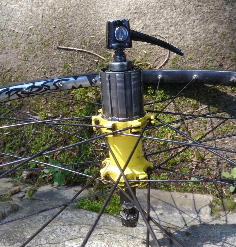 """Paire roues 29"""", Crossmax AR, des roues AV (frein sur jante) Moyeu12"""
