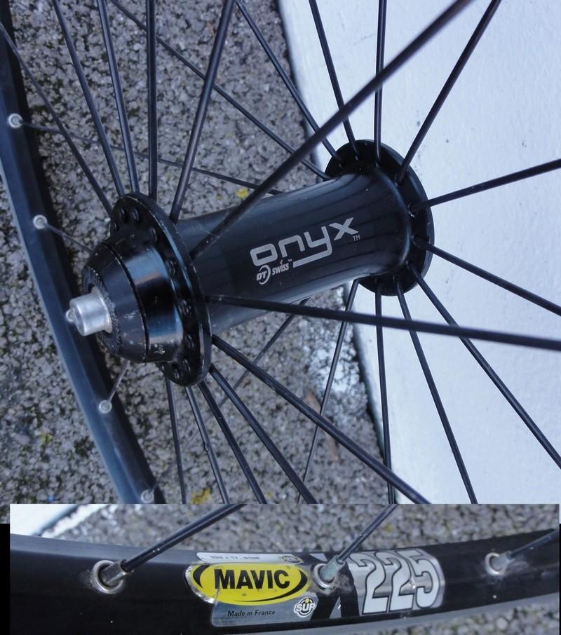 """Paire roues 29"""", Crossmax AR, des roues AV (frein sur jante) Moyeu_10"""