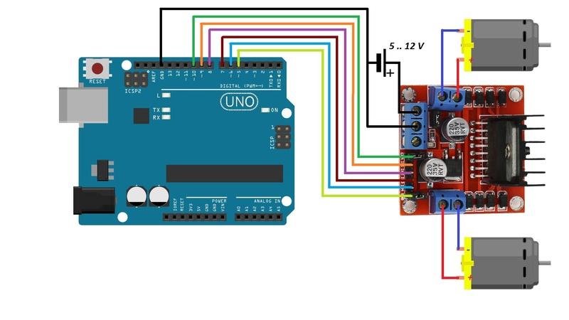 Come costruire un robot 2WD con Arduino Maxres10