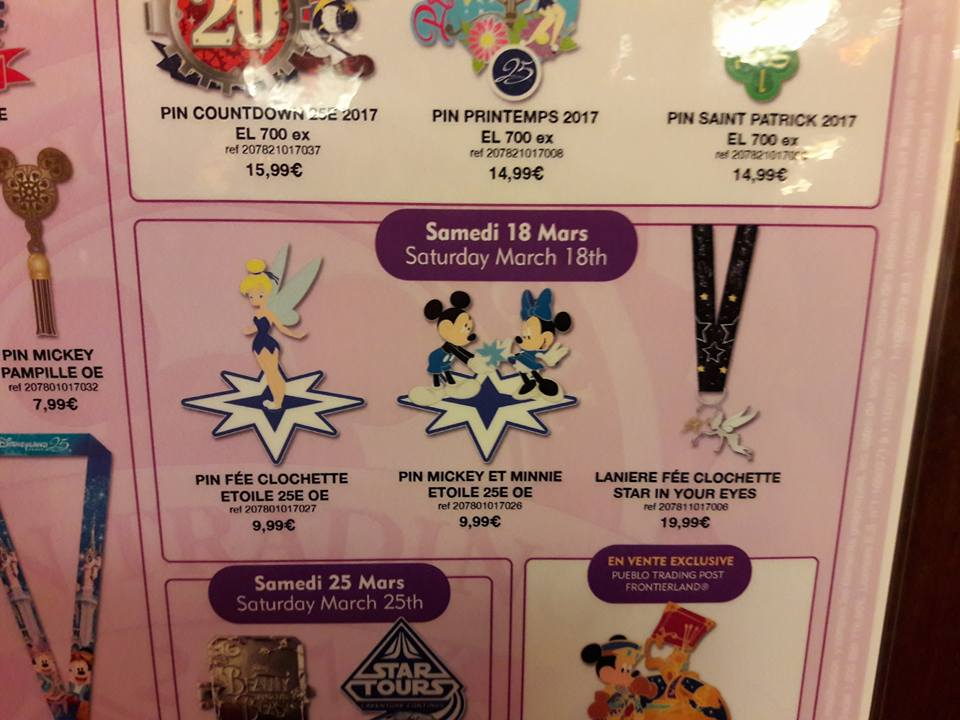 Le Pin Trading à Disneyland Paris 16939510