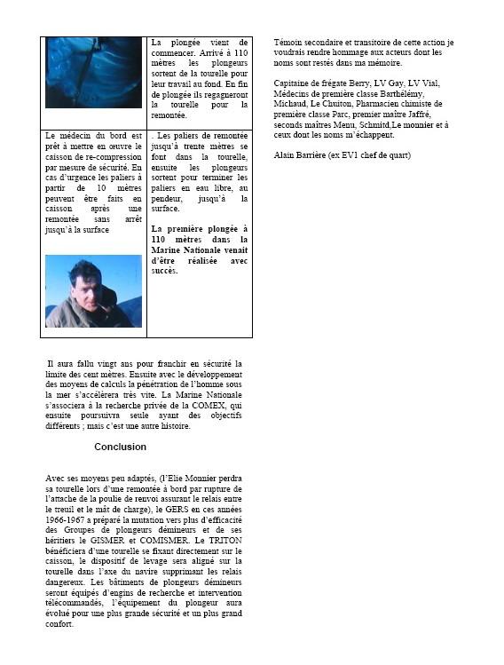 INGÉNIEUR ELIE MONNIER - B.S.L. du G.E.R.S - Page 4 Plongy11