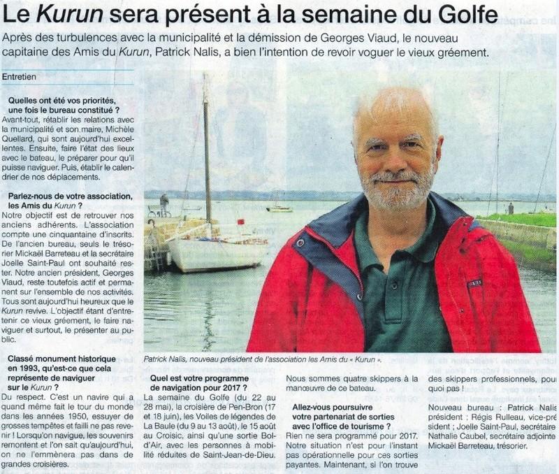 [Activité hors Marine des ports] LE CROISIC Port, Traict, Côte Sauvage... - Page 8 Semain10