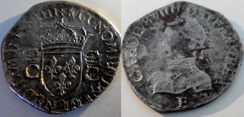 Charles IX  teston de quel type ? 113