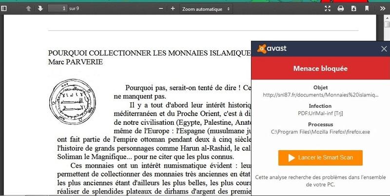 L' islamique? du jour :-) Avast10