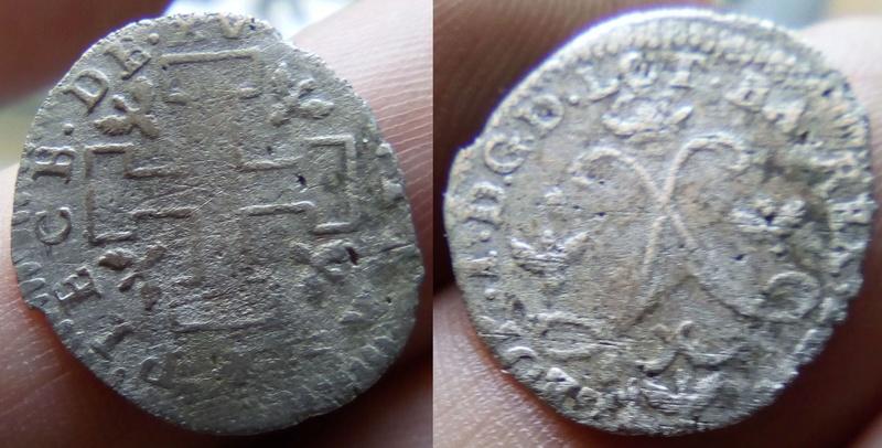 15 deniers pour Léopold Ier (1697-1729) Duché de Lorraine Presse13