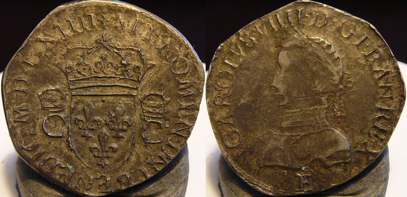 Charles IX  teston de quel type ? Teston10