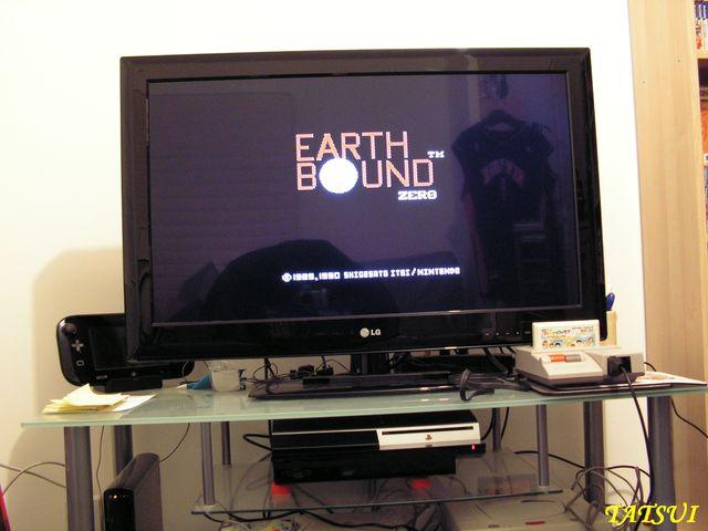 Mes réalisations, FAMICOM: Earthbound zero  Pict0025