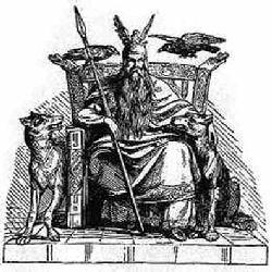 Le Dieu Odin Odin10