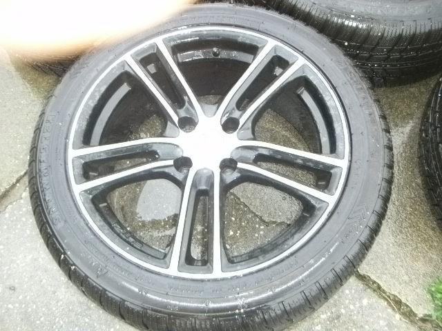 Jantes alu et pneus 215 50 R17 ( vendus ) Jante410