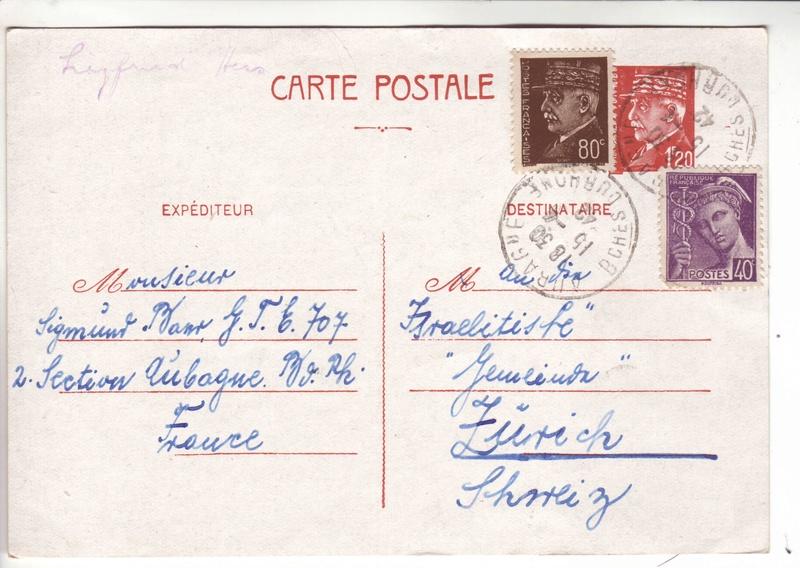 G.T.E. 707 Aubagne 1942. 1008910