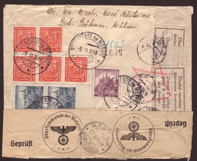 Bohème et Moravie du 15.03.1939 au 08.05.1945 ( Tchécoslovaquie) 2001010
