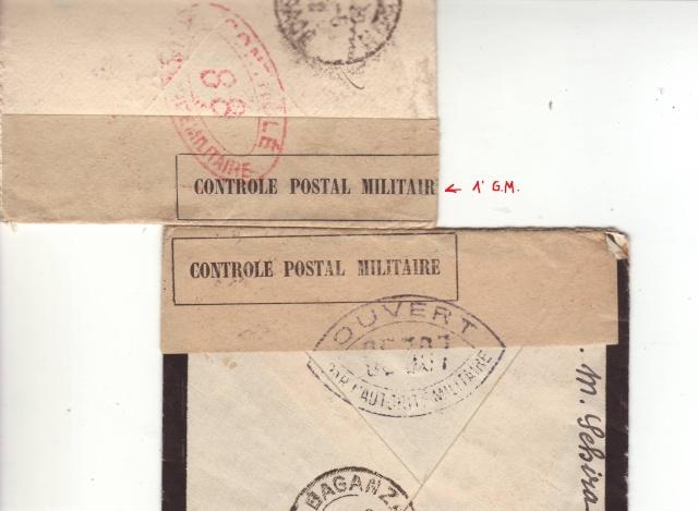 Utilisation d'un papillon de fermeture de la 1° GM de la commission de contrôle de Colmar. 3001910