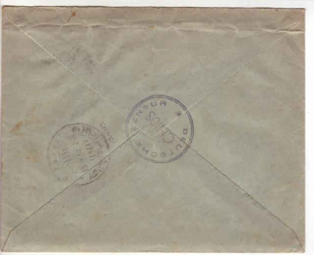 Censures allemandes en Mer Egée et dans le Dodécanèse. 4001210
