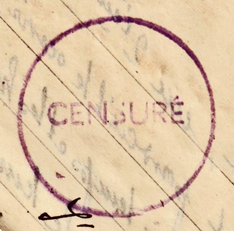 Lettre de Munster (68) du 04.12.1946 pour Toulouse avec contenu censuré!?! 5010710