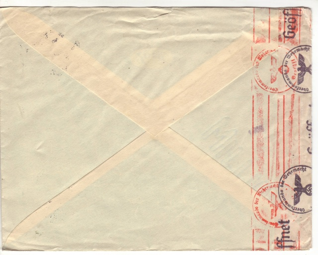 Echantillon de censures Croates. 5d000310