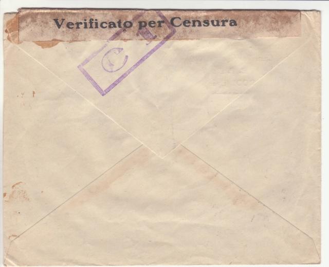 Censure italienne de Rhodes - Dodécanèse - Egée. _0d00010